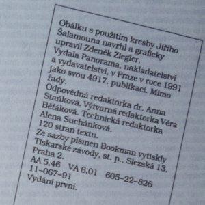 antikvární kniha Modrovous, 1991