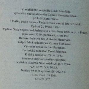 antikvární kniha Bláznův gambit, 1984