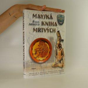 náhled knihy - Mayská kniha mrtvých