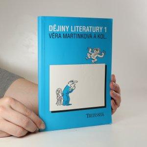 náhled knihy - Dějiny literatury 1