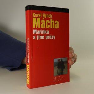 náhled knihy - Marinka Marinka a jiné prózy
