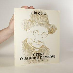 náhled knihy - Čtení o Jakubu Demlovi