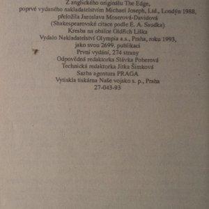 antikvární kniha V šachu, 1993