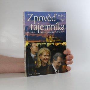 náhled knihy - Zpověď tajemníka