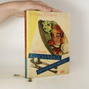náhled knihy - Moderní kuchařka pro ženu i muže