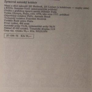antikvární kniha Československo - průvodce, 1976