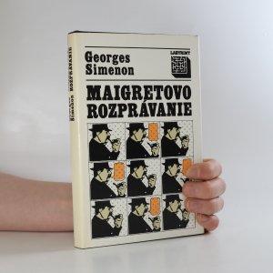 náhled knihy - Maigretovo rozprávanie