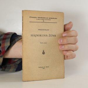 náhled knihy - Hájnikova žena