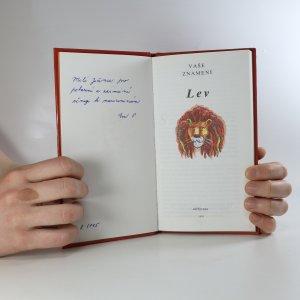 antikvární kniha Vaše znamení. Lev, 1995