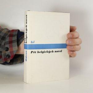 náhled knihy - Pět belgických novel