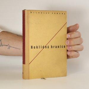 náhled knihy - Neklidná hranice