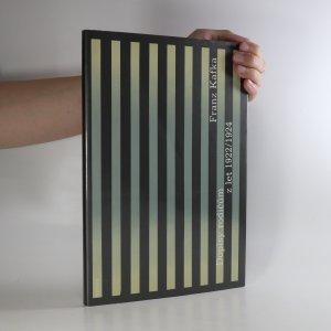 náhled knihy - Dopisy rodičům z let 1922-1924