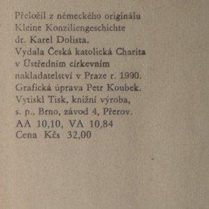 antikvární kniha Malé dějiny koncilů, 1990
