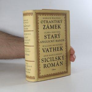 náhled knihy - Anglický gotický román