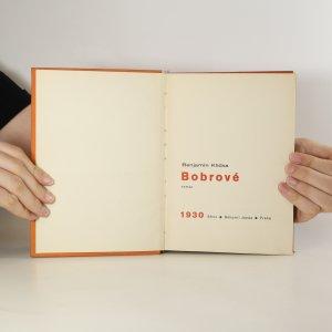 antikvární kniha Bobrové, 1930