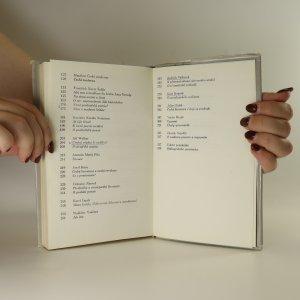 antikvární kniha Čítanka českého myšlení o literatuře, 1976
