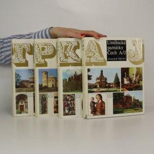 náhled knihy - Umělecké památky Čech A-Ž (4 svazky, komplet)