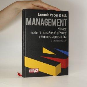 náhled knihy - Management. Základy, moderní manažerské přístupy, výkonnost a prosperita