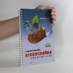 náhled knihy - Vegetariánská biokuchařka (roztržená jedna strana, viz foto)