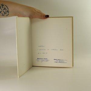 antikvární kniha Petrklíče, 1981