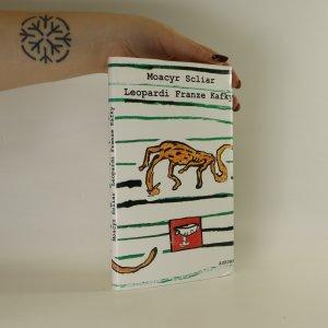 náhled knihy - Leopardi Franze Kafky