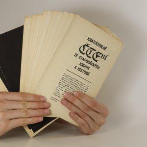antikvární kniha Kratochvilné čtení. Ze starodávných kronik a historií, 1969