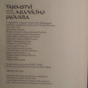 antikvární kniha Tajemství mluvícího jaguára. Vzpomínky z živoucího srdce mayské vesnice, 2001