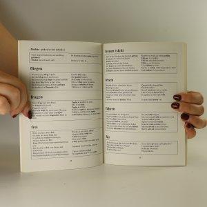 antikvární kniha Nejužívanější slova v německých větách, neuveden