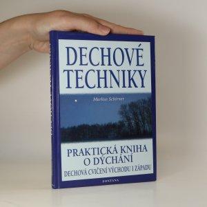 náhled knihy - Dechové techniky. Praktická kniha o dýchání