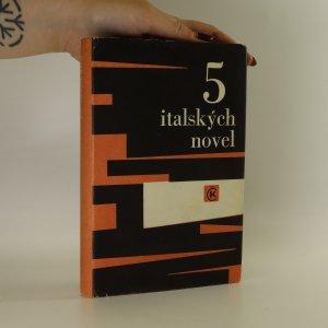 náhled knihy - 5 italských novel
