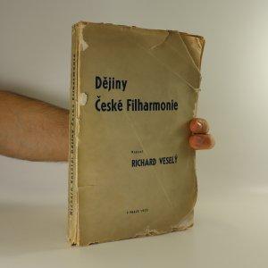 náhled knihy - Dějiny České Filharmonie