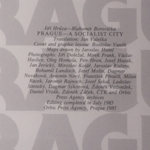 antikvární kniha Prague. A Socialist City, 1985