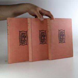 náhled knihy - Dílo Jana Nerudy 3x - Knihy básní. Arabesky. Povídky malostranské. (3 svazky)