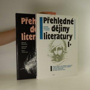 náhled knihy - Přehledné dějiny literatury I. a II. (dva svazky)