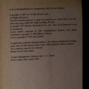 antikvární kniha Hudsonský jestřáb, 1993