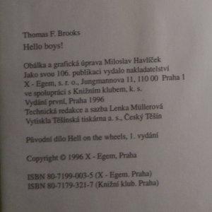 antikvární kniha Hello boys! , 1996