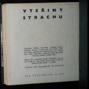 antikvární kniha Vteřiny strachu, 1968