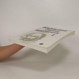 antikvární kniha Přehledné dějiny literatury I. , 1999