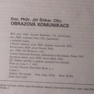 antikvární kniha Obrazová komunikace, 1992