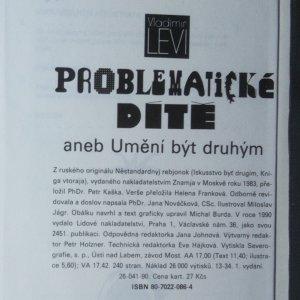 antikvární kniha Problematické dítě aneb Umění být druhým, 1990