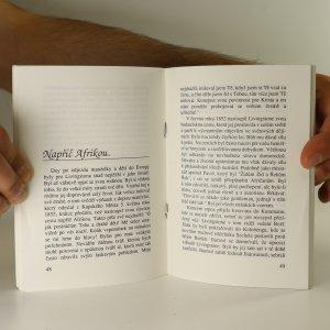 antikvární kniha David Livingstone. Misionář, lékař a cestovatel, 1991