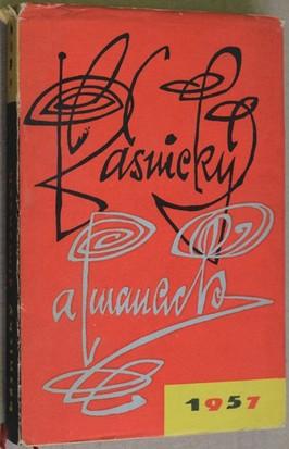 náhled knihy - Básnický almanach 1957
