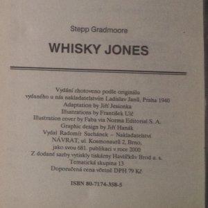 antikvární kniha Whisky Jones, 2000