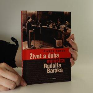 náhled knihy - Život a doba ministra Rudolfa Baráka