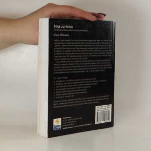 antikvární kniha Hra za hrou. Strategie pokerového turnaje profesionála, 2010