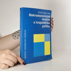náhled knihy - Makroekonomická analýza a hospodářská politika