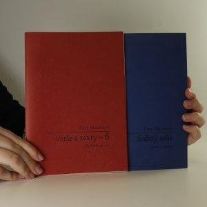náhled knihy - Verše a texty. Sešit 6. a 7. (věnování autora)