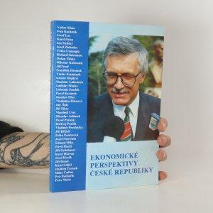 náhled knihy - Ekonomické perspektivy České republiky
