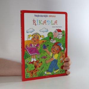 náhled knihy - Nejkrásnější dětská říkadla