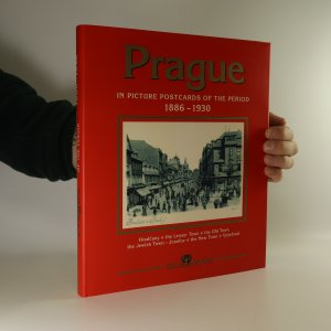 náhled knihy - Prague in picture postcards of the period 1886-1930